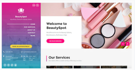 Download BeautySpot – WordPress Theme for Beauty Salons Nulled