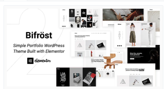 Download Bifrost – Simple Portfolio WordPress Theme Nulled