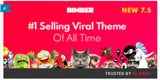 Download Bimber – Viral Magazine WordPress Theme Nulled