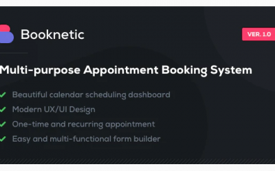 You are downloading Booknetic - WordPress Appointment Booking and Scheduling system Nulled whose current version has been getting more updates