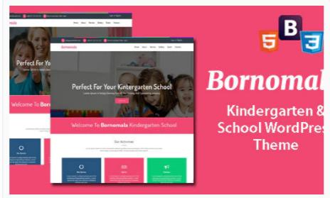 Download Bornomala – Kindergarten & School WordPress Theme Nulled
