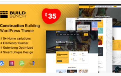 You are downloading Buildbench - Building and Construction WordPress Theme Nulled whose current version has been getting more updates nowadays,