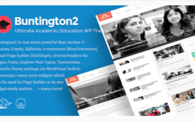You are downloading Buntington - Education WP Theme Nulled whose current version has been getting more updates nowadays, so, please keep visiting for getting