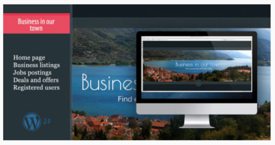 Download Business In Our Town–Business List, Deals, Jobs Nulled