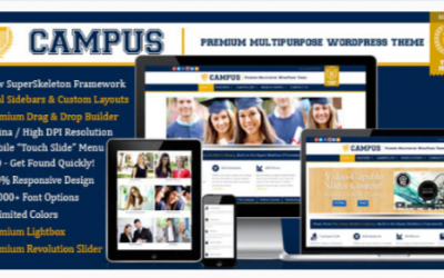 You are downloading Campus | Multipurpose WordPress Theme Nulled whose current version has been getting more updates nowadays, so, please keep visiting