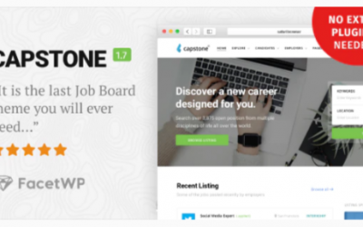 You are downloading Capstone: Job Board WordPress Theme Nulled whose current version has been getting more updates nowadays, so, please