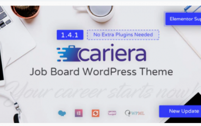 You are downloading Cariera - Job Board WordPress Theme Nulled whose current version has been getting more updates nowadays, so, please