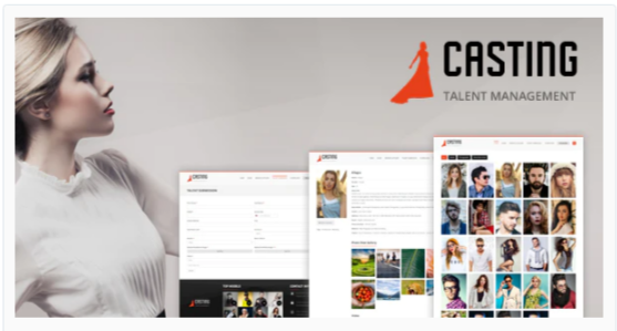 Download Casting – Responsive Model Agency WordPress Theme Nulled