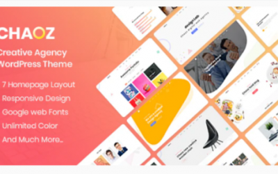 You are downloading Chaoz - Creative Portfolio WordPress Theme For Agency Nulled whose current version has been getting more updates nowadays,