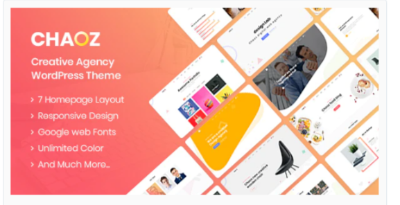 Download Chaoz – Creative Portfolio WordPress Theme For Agency Nulled