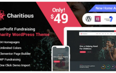 You are downloading Charitious - NonProfit Fundraising Charity WordPress Theme Nulled whose current version has been getting more updates nowadays, so, please