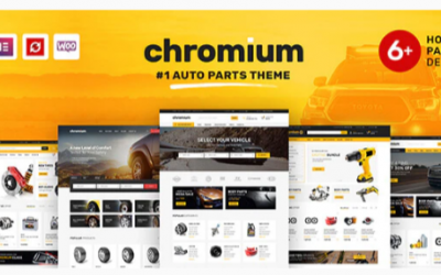 You are downloading Chromium - Auto Parts Shop WordPress WooCommerce Theme Nulled whose current version has been getting more updates nowadays,