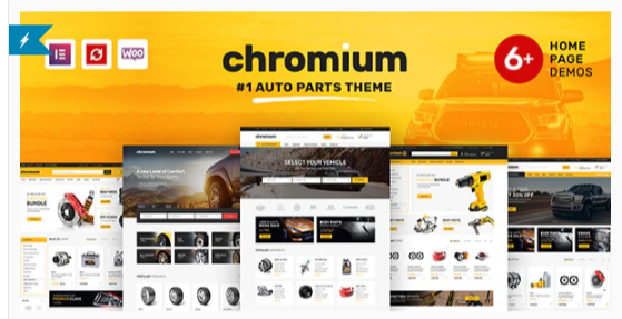 Download Chromium – Auto Parts Shop WordPress WooCommerce Theme Nulled