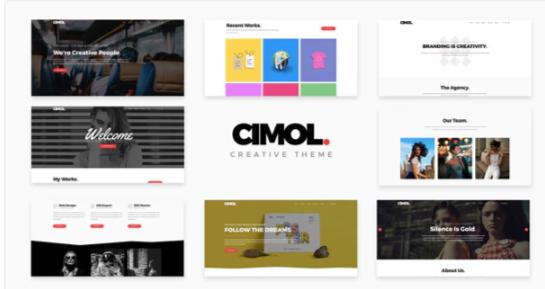 Download Cimol – Responsive One & Multi Page Portfolio Theme Nulled