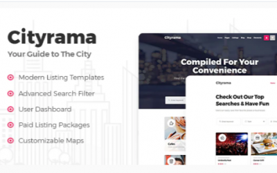 You are downloading Cityrama - Listing & City Guide Theme whose current version has been getting more updates nowadays, so, please