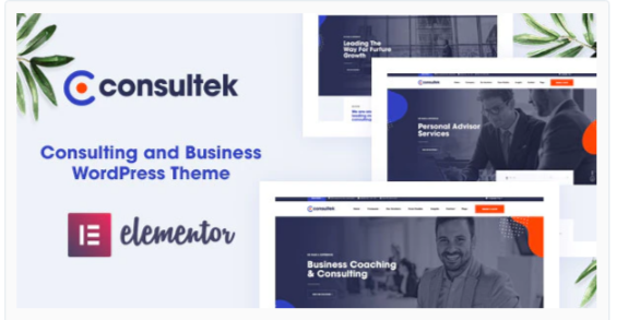 Download Consultek – Consulting Business WordPress Theme Nulled