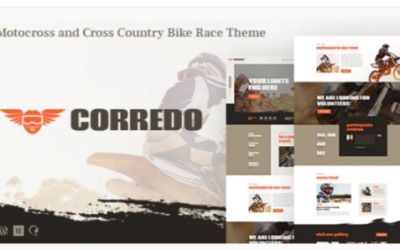You are downloading Corredo | Bike Race & Sports Events WordPress Theme Nulled whose current version has been getting more updates nowadays,
