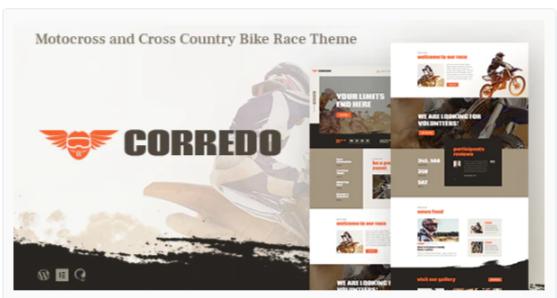 Download Corredo | Bike Race & Sports Events WordPress Theme Nulled