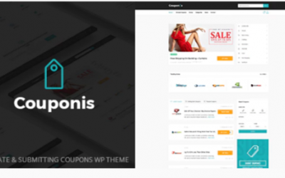 You are downloading Couponis - Affiliate & Submitting Coupons WordPress Theme Nulled whose current version has been getting more updates nowadays,