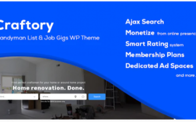 You are downloading Craftory - Directory Listing Job Board WordPress Theme Nulled whose current version has been getting more updates nowadays, so, please