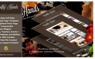 You are downloading crafty Hands–Courses, Training, Workshops WP Theme Nulled whose current version has been getting more updates nowadays, so, please
