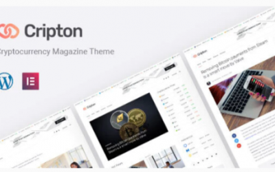 You are downloading Cripton | Cryptocurrency Elementor Magazine WordPress Theme Nulled whose current version has been getting more updates nowadays,
