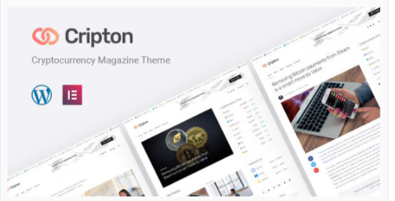 Download Cripton | Cryptocurrency Elementor Magazine WordPress Theme Nulled