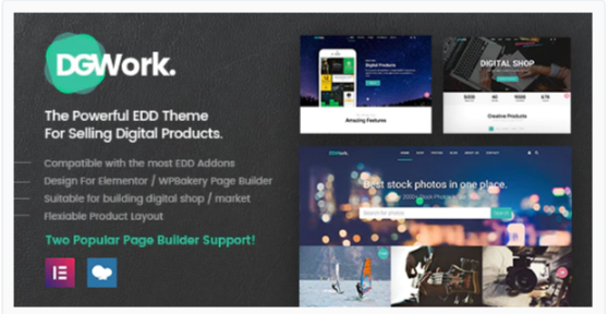 Download DGWork – Responsive Digital Shop & Market Easy Digital Downloads Theme Nulled