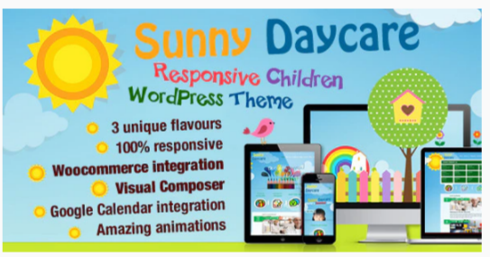 Download Daycare – Kindergarden WordPress Theme Nulled