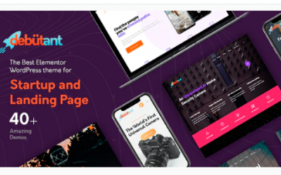 You are downloading Debutant - Landing Page WP theme Nulled whose current version has been getting more updates nowadays, so, please keep visiting