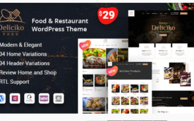 You are downloading Deliciko - Restaurant WordPress Theme Nulled whose current version has been getting more updates nowadays, so, please keep visiting
