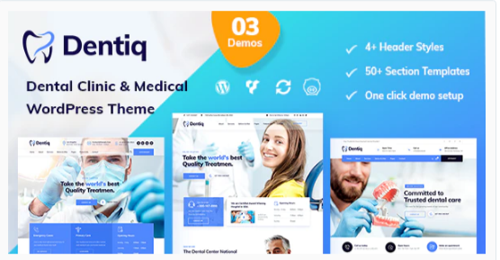 Download Dentiq – Dental & Medical WordPress Theme Nulled