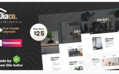 You are downloading Diaco - Architecture & Interior Design Elementor WordPress Theme Nulled whose current version has been getting more updates nowadays