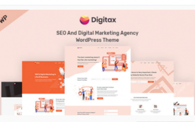 You are downloading Digitax - SEO & Digital Marketing Agency WordPress Theme Nulled whose current version has been getting more updates nowadays,