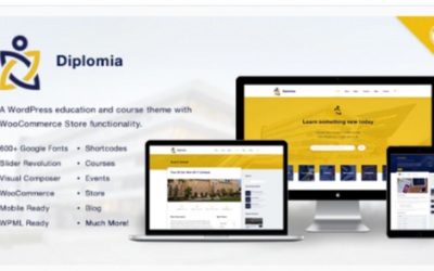 You are downloading Diplomia WordPress Theme | Education WP Nulled whose current version has been getting more updates nowadays, so, please keep visitin