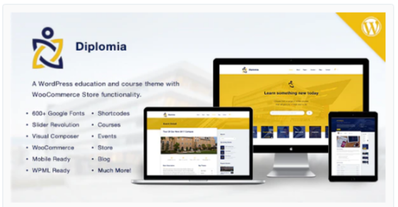 Download Diplomia WordPress Theme | Education WP Nulled