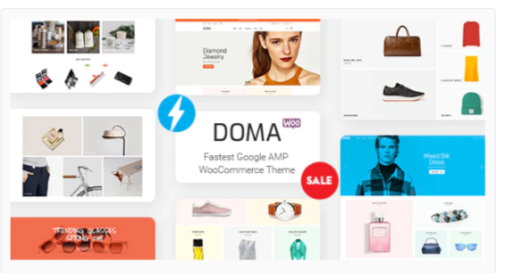 Download Doma – Google AMP Multi Vendor WooCommerce Theme Nulled