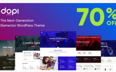 You are downloading Dopi - Elementor MultiPurpose WordPress Theme Nulled whose current version has been getting more updates nowadays, so, please