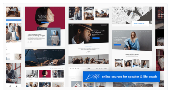 Download DotLife | Coach Online Courses WordPress Nulled