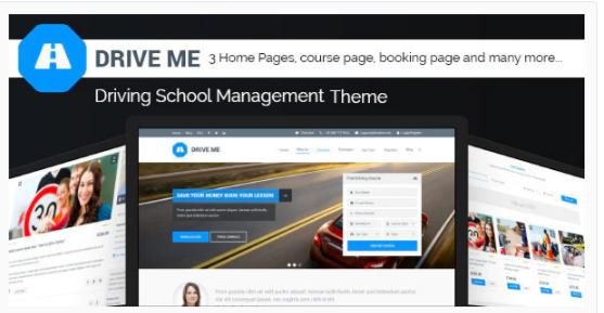 Download Driveme – Driving School WordPress Theme Nulled