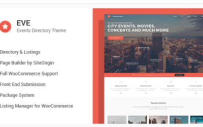 You are downloading EVE - Events Directory WordPress Theme Nulled whose current version has been getting more updates nowadays, so, please