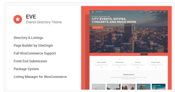 Download EVE – Events Directory WordPress Theme Nulled