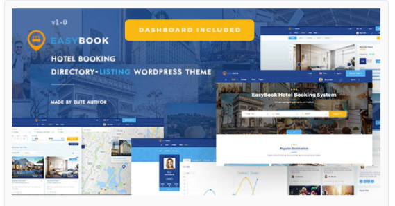 Download EasyBook – Directory & Listing WordPress Theme Nulled