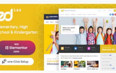 You are downloading Ed School: Education WordPress Theme Nulled whose current version has been getting more updates nowadays, so, please keep visiting