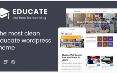 You are downloading Educate - Education WordPress Theme Nulled whose current version has been getting more updates nowadays, so, please keep visiting