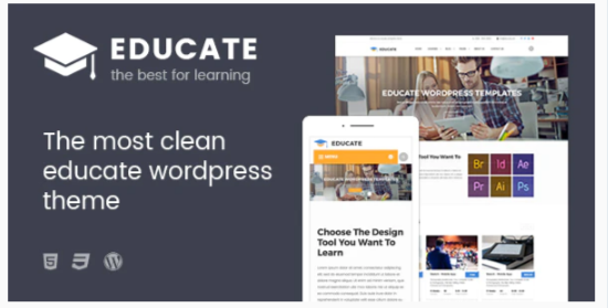 Download Educate – Education WordPress Theme Nulled