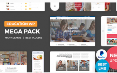 You are downloading Education Pack Nulled whose current version has been getting more updates nowadays, so, please keep visiting for getting the latest version