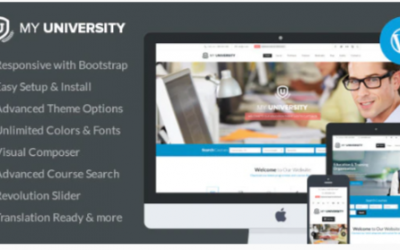 You are downloading Education WordPress Theme | My University Nulled whose current version has been getting more updates nowadays, so, please