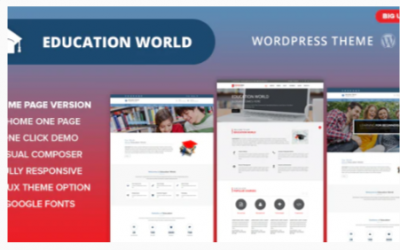 You are downloading Education World WordPress Theme Nulled whose current version has been getting more updates nowadays, so, please keep visiting