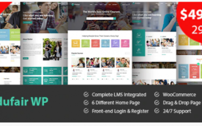 You are downloading Edufair - Multipurpose WordPress Theme For Education Nulled whose current version has been getting more updates nowadays, so, please